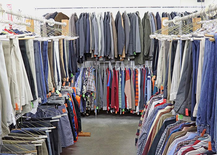 Men's and Women's Clothing Thrift Store