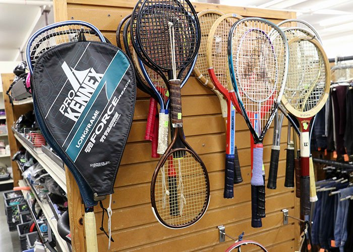 Thrift Store Rackets - Tennis, Racquetball, Badminton, Squash